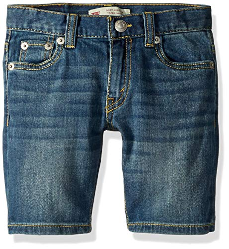 Levi's Boys' Big 502 Regular Fit Denim Shorts, Washed Up, 12 ()
