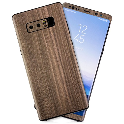 Brown Wood Texture Protective Skin Decal for Samsung Galaxy Note 8 Sticker Wrap Cover 10 Pack by GolemGuard