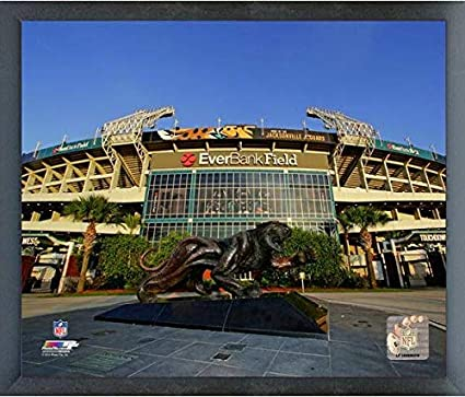 EverBank Field Jacksonville Jaguars Stadium Photo (Size: 17u0026quot; X  21u0026quot;) Framed