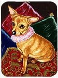 Caroline's Treasures Pillow Princess Chihuahua Glass Cutting Board, Large, Multicolor
