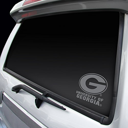 Rico Industries Georgia Bulldogs Chrome Window Graphic Decal ()