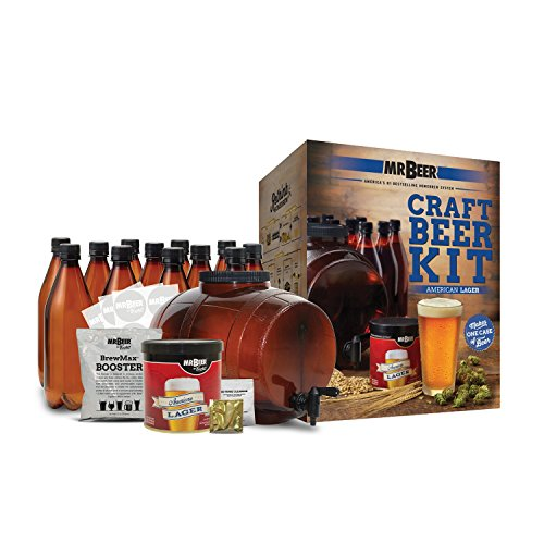 Deluxe Bottling System - Mr. Beer American Lager Complete Beer Making Kit