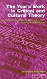 English Studies and the Year's Work in Critical and Cultural Theory 2002 2 Vol. Set, McGowan, Kate, 0198527446