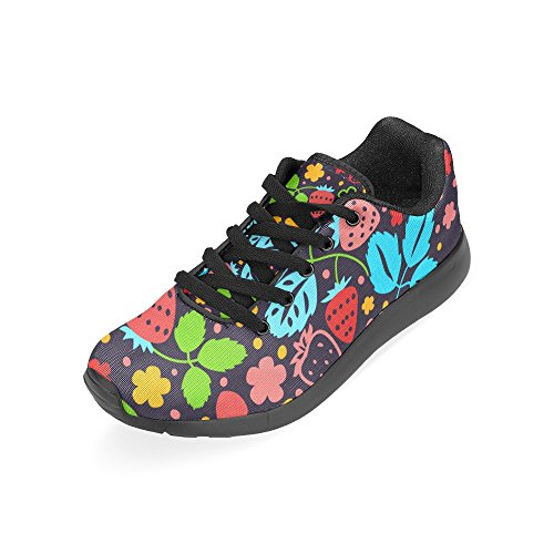 Lona Negro Running de Zapatillas Negro Mujer para Zenzzle de wEpI0x6qnO