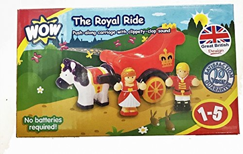 WOW The Royal Ride Push-Along Carriage