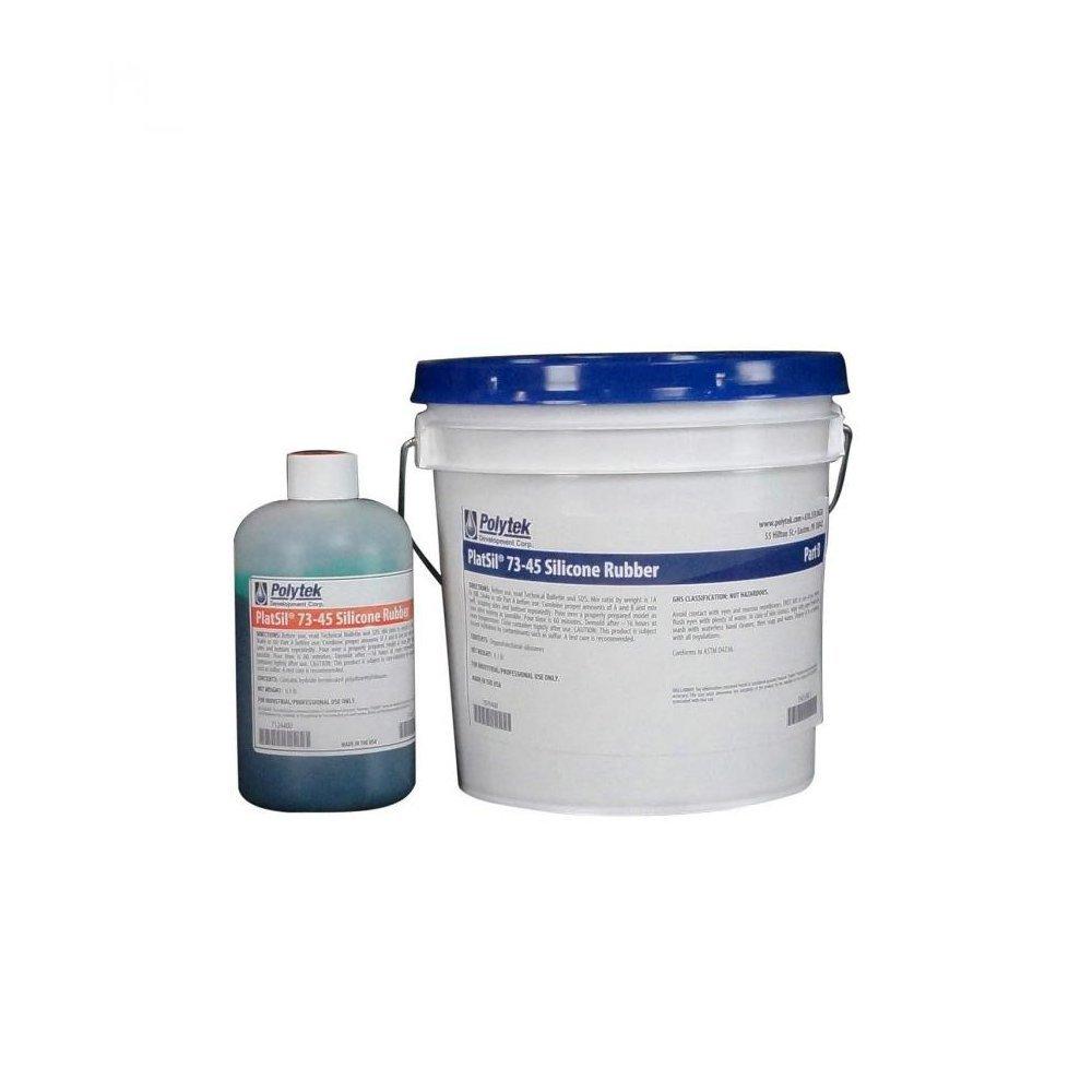 Polytek PlatSil73-45 Platinum Silicone Rubber (9lb Kit)