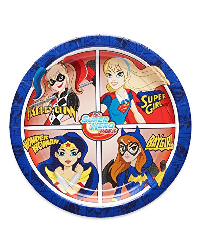 American Greetings DC Super Hero Girls Dessert Plates