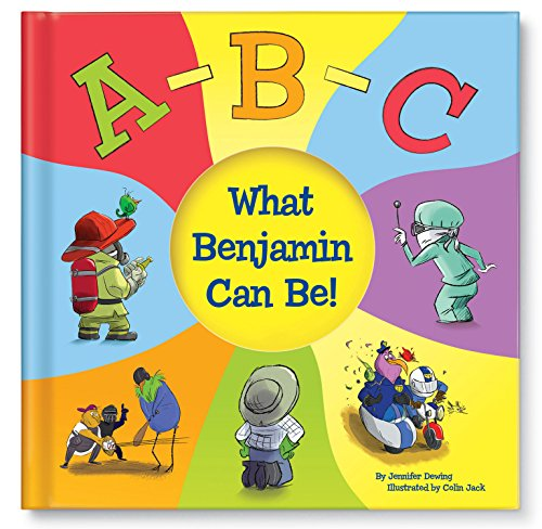 Personalized Book Unique Gift for Kids ABC Alphabet Letters Book