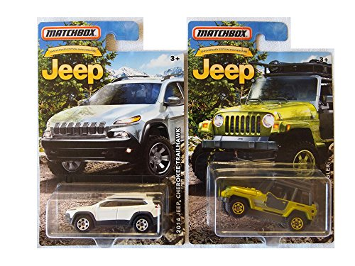 Matchbox Jeep Custom Bundle of 2 Cars