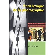 Petit lexique de la photographie