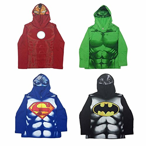 Spider-Man DC Marvel Comic Batman Hulk Ironman Superman Pullover Hoodie