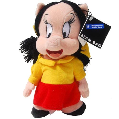 (PETUNIA PIG - Warner Bros Bean Bag Plush)