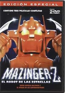 Mazinger Z (Ed.Esp.) El ataque de los Supermonstruos + Super Express Mazinger 7 [DVD]