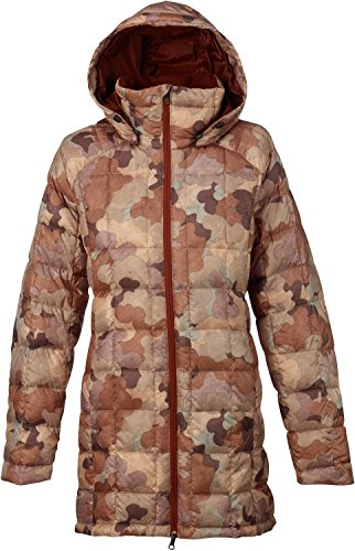 Burton AK Baker Long Down Insulator Jacket Womens Sz -