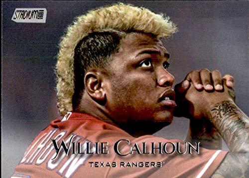 2019 Topps Stadium Club #248 Willie Calhoun Texas Rangers Baseball Card