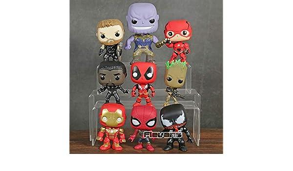 Amazon.com: VIETFR Marvel Deadpool Black Panther Spiderman ...