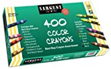 Sargent Art 400-Count Crayon Class Pack, Best-Buy Assortment, 3-5/8 Inch, 55-3220