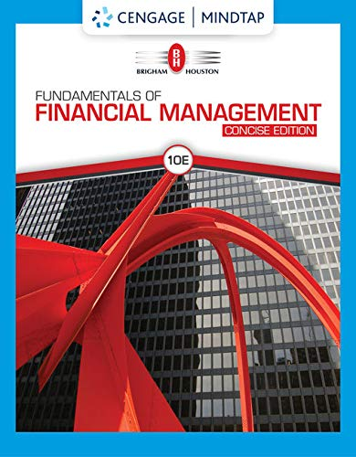 MindTap for Brigham/Houston's Fundamentals of Financial Management, Concise Edition, 10th Edition [Online Code] by Cengage Learning