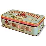 NATIVES 211143 Lady cupcake Boîte pour Tablette de chocolat Métal Multicolore 23 x 13 x 5,5 cm