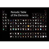 Illustrated Periodic Table of the Elements Poster 36x24 (2017) …
