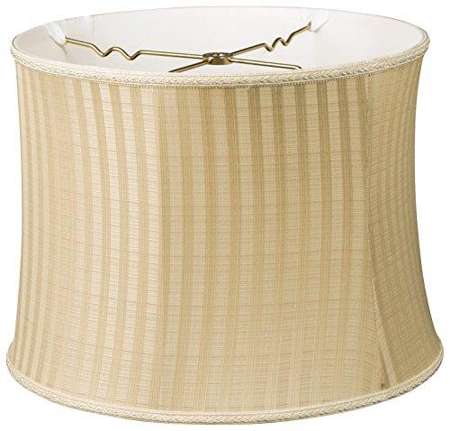 Royal Designs Bell Drum Designer Lamp Shade, Light Oriental Pattern, 12 x 13 x ()