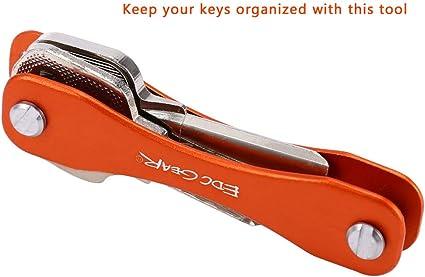 Nider Organizador de llaves de aluminio de óxido duro ...