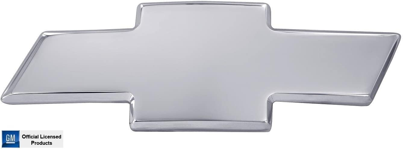 All Sales 96007P Ami Chevy Bowtie Grille Emblem Without Border Silver