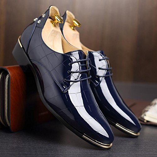 Shoes Primavera Scarpe Traspirante Lavoro B Estate pelle da Scarpa uomo Mocassini Evening Oxfords stringate Driving XUE Party formale in d'affari amp; Casual lucide Comfort wvXpz