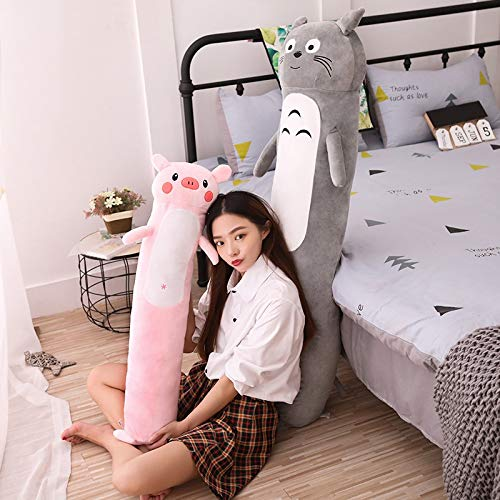 TREGIA 80-140Cm I Cartoon Cute Plush Toy Soft Cylindrical Long Pillow Washable Leisure Sleeping Boyfriend Pillow Gift Must Have Items Favourite Movie Toddler Superhero by TREGIA