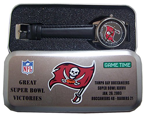Tampa Bay Buccaneers Super Bowl 37 Watch Commemorative Wristwatch New