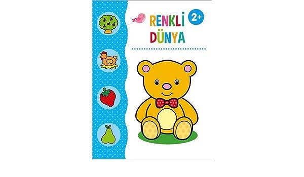 Renkli Dunya Boyama Kitabi Collective 9786050946390 Amazon