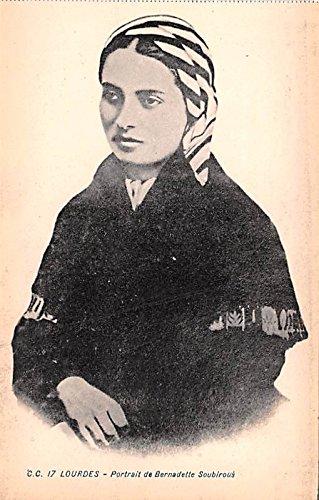 (Portrait de Bernadette Soubirous Lourdes France)