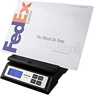 Accuteck Heavy Duty Postal Shipping Scale with Extra Large Display, Batteries and AC Adapter (