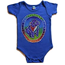 Licensed Grateful Dead Puppy One Piece Infant Romper by Dye The Sky