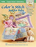 img - for Color 'n' Stitch (Leisure Arts #3546) book / textbook / text book