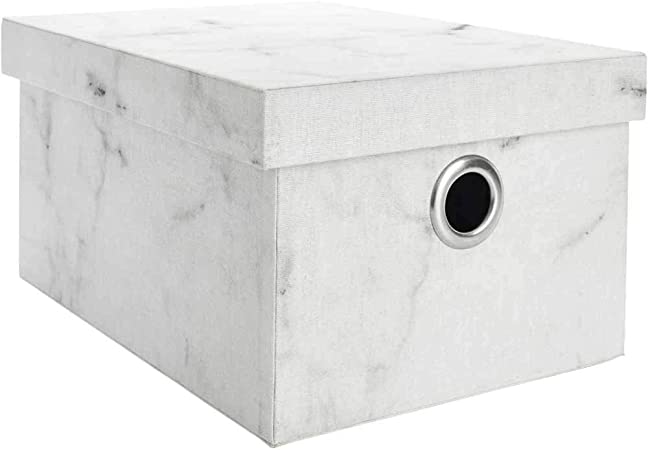 A2Z Home Solutions Caja de Almacenamiento de mármol con Tapa para mudanzas, Cajas de Embalaje de mármol Extra Grandes para mudanzas, casa, Oficina, mudanzas, Documentos, Juguetes, Ropa: Amazon.es: Hogar