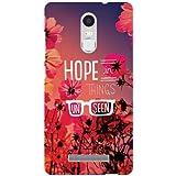 Xiaomi Redmi Note 3 Back Cover - Hope Designer Cases