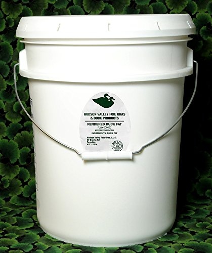 Antibiotic Free Duck Fat - 5 Gallon Bucket - 40Lbs.