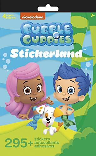 Trends International STLPAD4P Bubble Guppies STICKERLAND 4 Page Pad]()