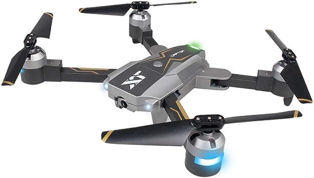 LXWM RC Drone Plegable WiFi Antena Drone Flujo óptico ...