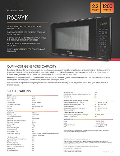Sharp-Sensor-Microwave-22-cuft