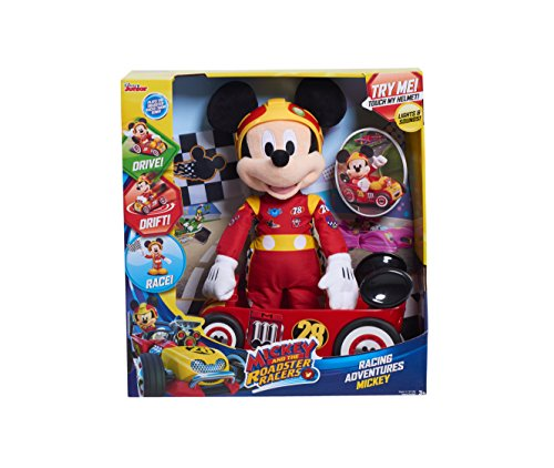 Racer Plush - MICKEY ROADSTERS 11146 Mickey & The Roadster Racers Racing Plush