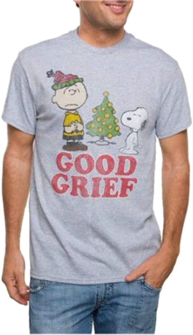 Peanuts Good Grief Athletic Department Women/'s T-Shirt