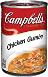Campbell's Condensed Soup, Chicken Gumbo, 10.5 Ounce (Pack of 12)