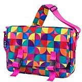 Wildkin Pinwheel 15 Inch x 10 Inch Messenger Bag