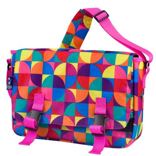 Wildkin Pinwheel 15 Inch x 10 Inch Messenger Bag by Wildkin
