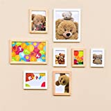 WillST Multi Picture Photo Frame European Style Creative Home Decoration 8pcs , a