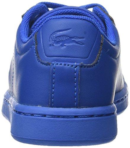 Lacoste Carnaby Evo 317 5, Entrenadores Bajos Unisex Niños Azul (Blu)