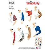 Simplicity Creative Patterns US8506A Sleeves for Tops, Vest, Jackets, Coats, A (10-12-14-16-18-20-22)