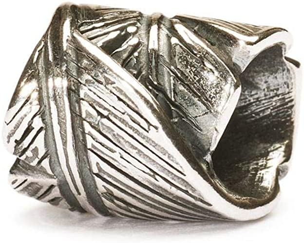 BEADED feather silver925